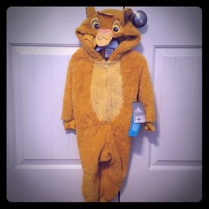 New with tags Disney Lion King costume